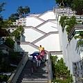 像竹筍的樓梯