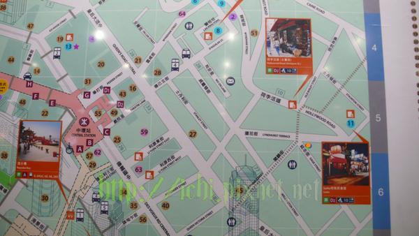 中環站地圖