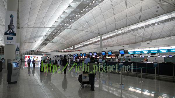 香港的機場