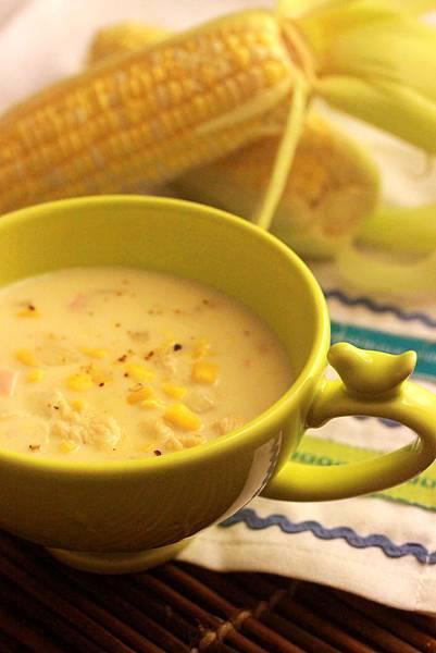 法式奶油玉米濃湯 corn chowder