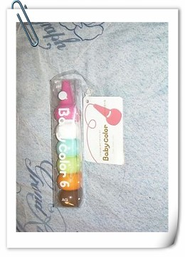 Baby Color兒童安全蠟筆
