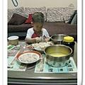 水餃港式濃湯芒果布丁