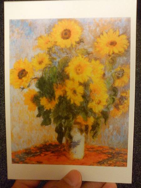 莫內的向日葵(明信片)