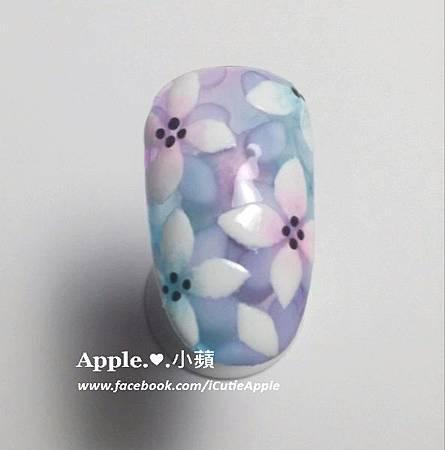 夢幻藍紫色花卉03