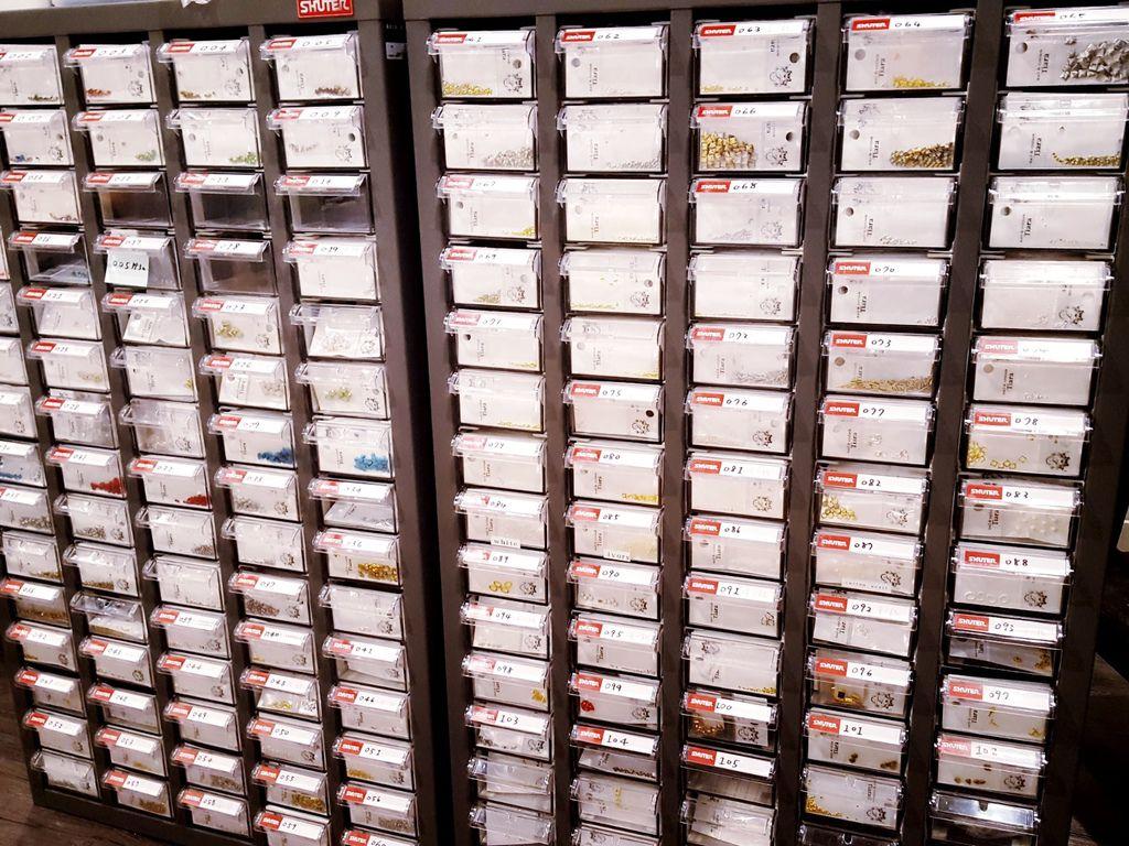 飾品庫存收納櫃