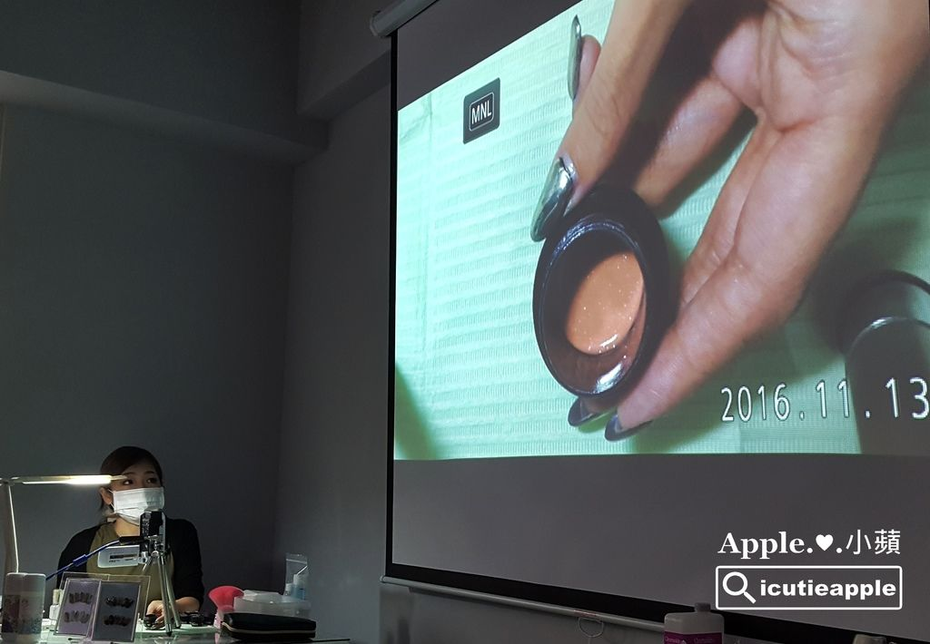 TF33:為了展現Tiara的膠性,長澤望(Nozomi)老師示範了三款彩繪樣式。