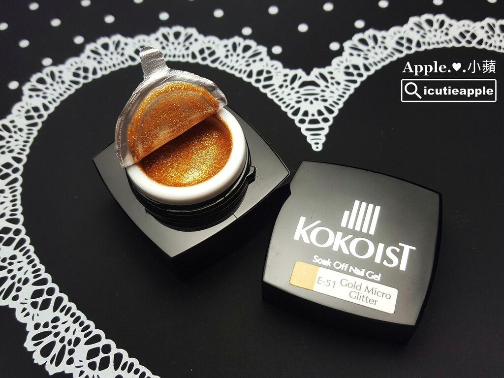 KOKO-05:KOKOIST罐裝彩膠的封膜很密實,但卻很好開封。撕開封膜後,瓶口一點都不留下痕跡,很喜歡如此極簡風格的俐落乾淨。
