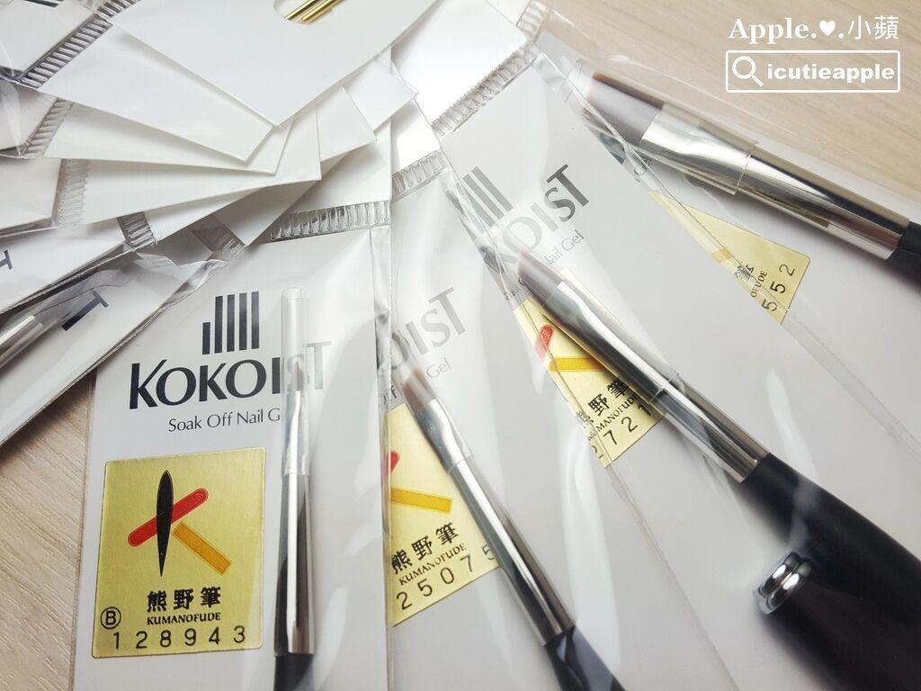 KOKO-28:每支手工製作的KOKOIST熊野筆,在內包裝都有貼附一張熊野筆的證明標籤,可從標籤上的號碼,追蹤確認這支筆的生產者及生產履歷。