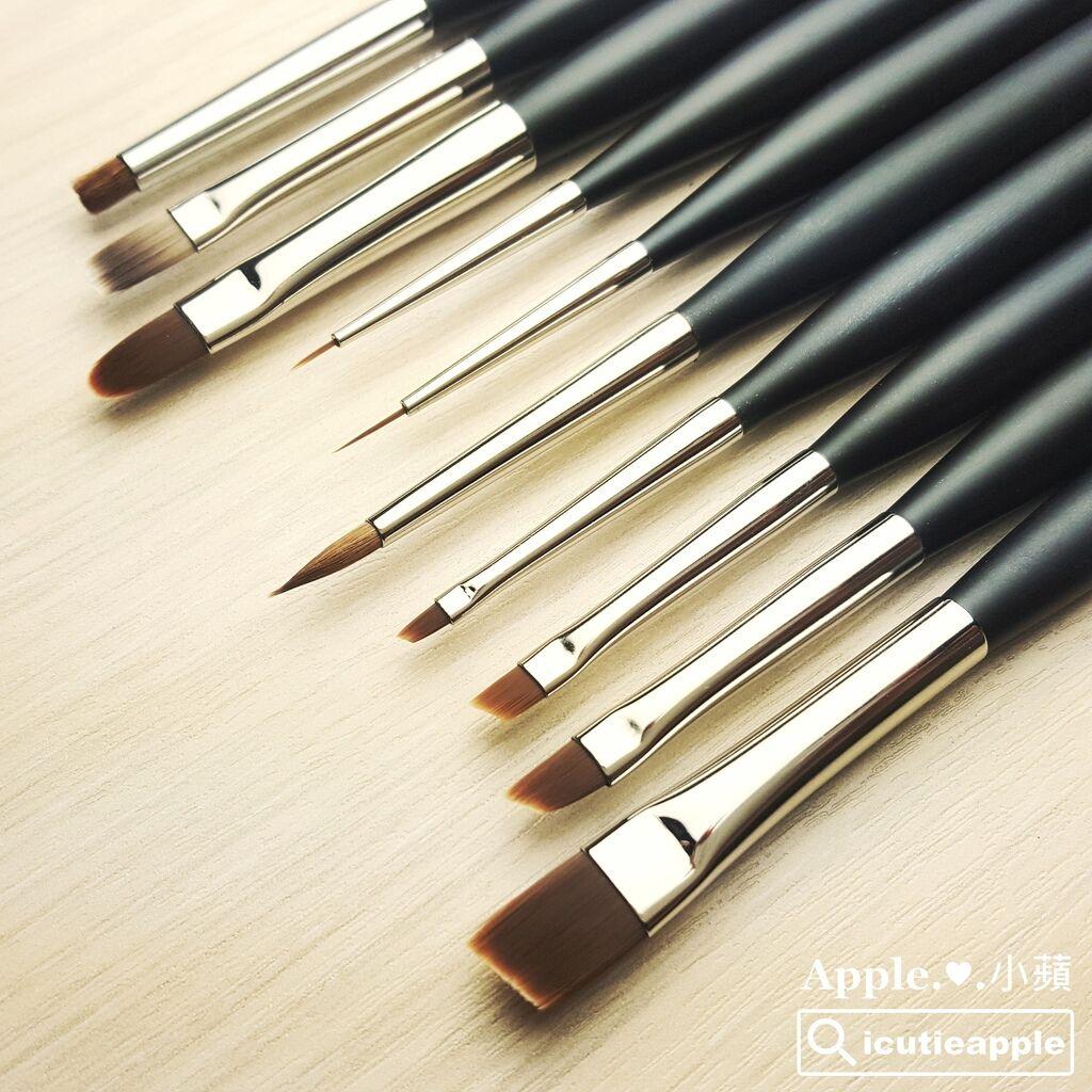 KOKO-30:KOKOIST一整套的凝膠彩繪熊野筆