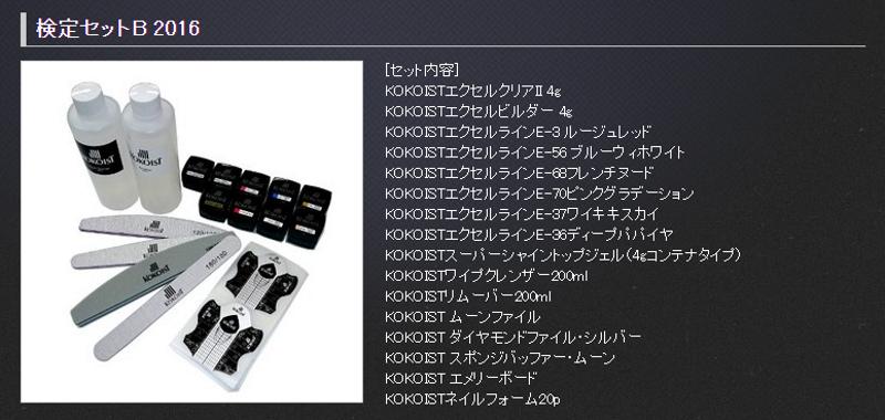 JNA_SET_B:有參加日本JNA凝膠指甲檢定試驗規劃的美甲人,或許可以考慮KOKOIST的檢定套組。