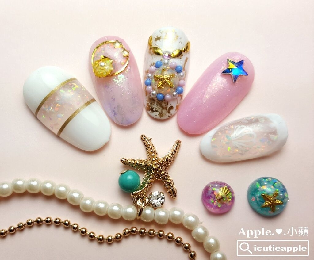 wJ29:春夏季節,一定要善加利用KOKOIST京都蛋白石寶石膠來呈現清涼感的白色系海洋女神風!
