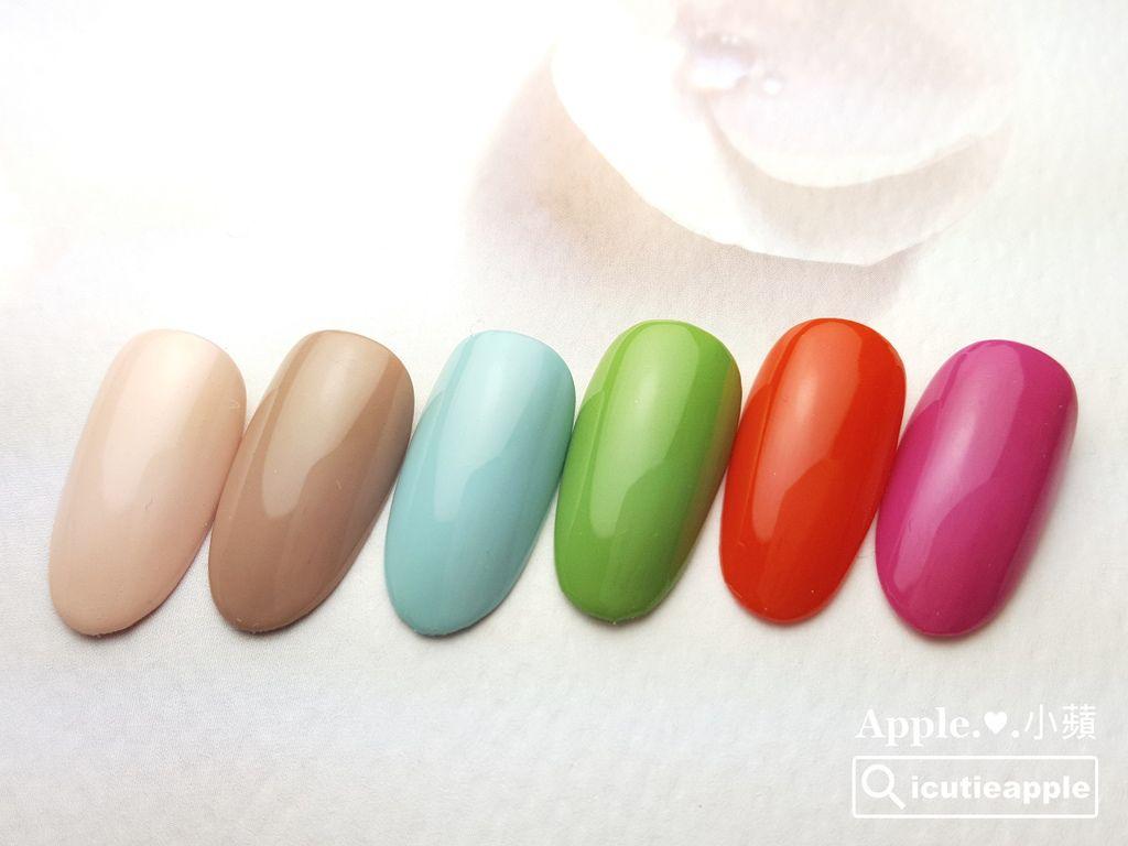 wTS-24:以上這6色,小蘋已盡可能調配出最接近Pantone 2017年度十大色彩的其中6個顏色。