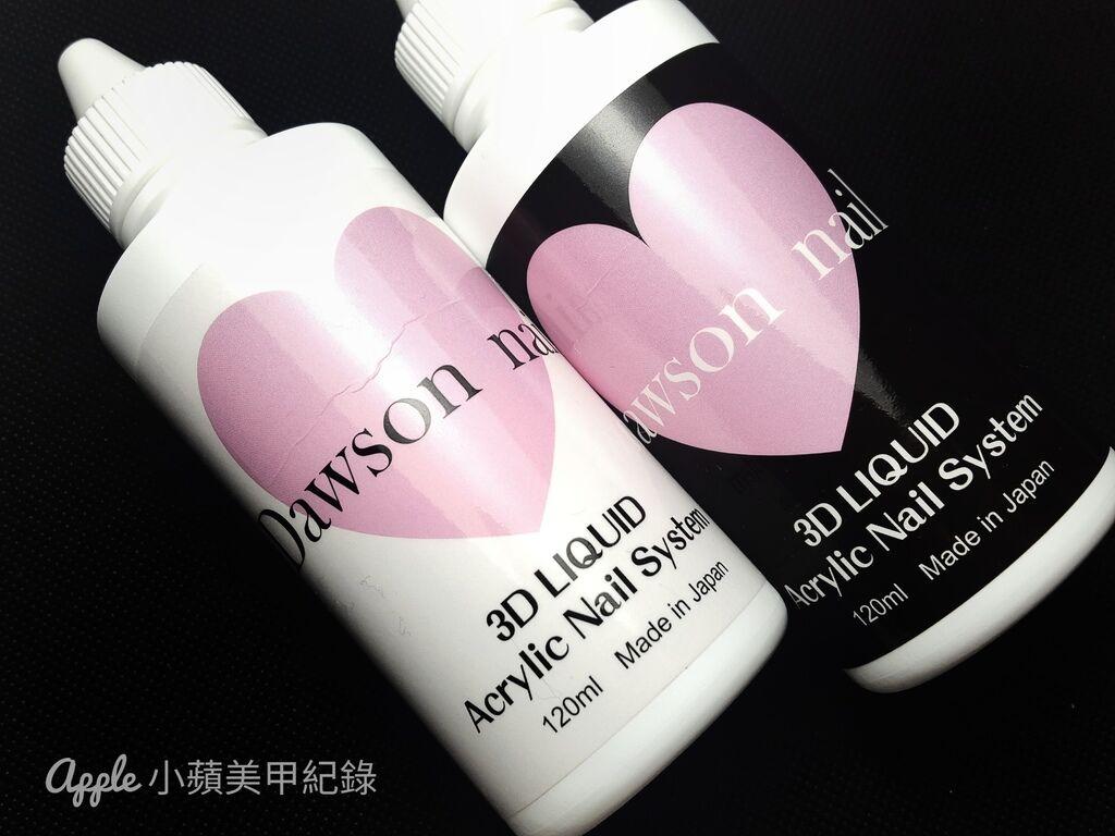 wD-60:另外搭配粉雕材料,Love Dawson系列商品也推出黑、白不同標貼的兩款日本製水晶溶劑,兩者的功能有些不同,可替換或搭配使用。