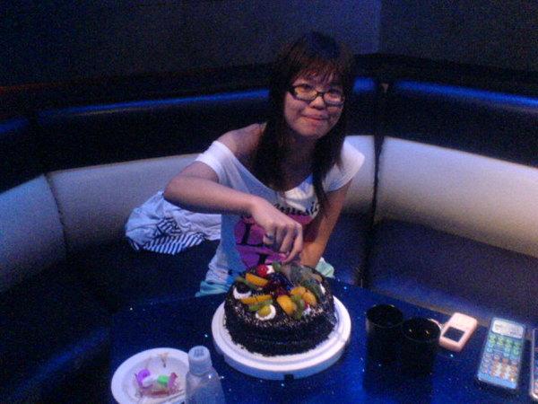 切蛋糕:)