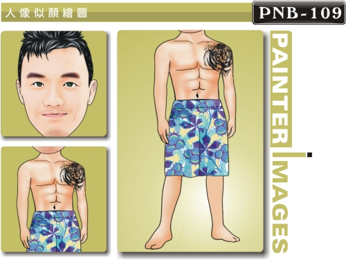 PNB-109-1(泳裝 夏日海邊)