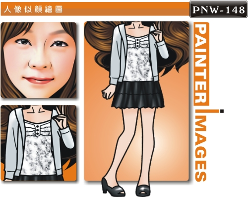 PNW-148-1(女可愛休閒風)
