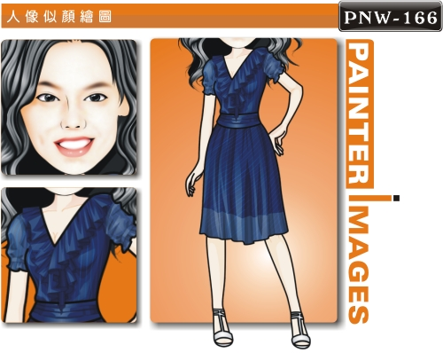 PNW-166-1(女洋裝 休閒風)