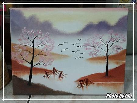 美術油畫-夕陽-1.jpg