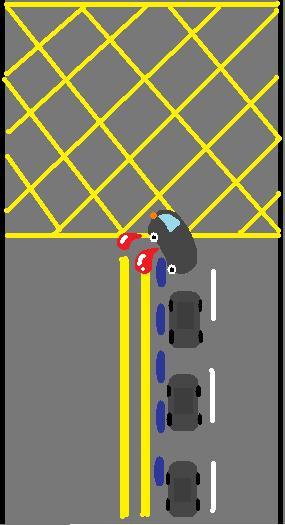 車禍示意圖