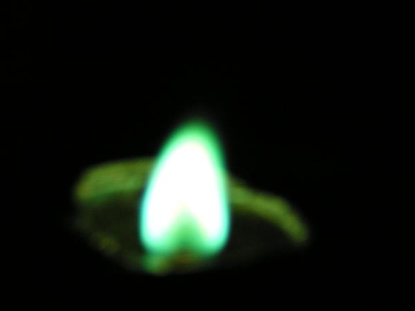 氯化銅蠟燭
