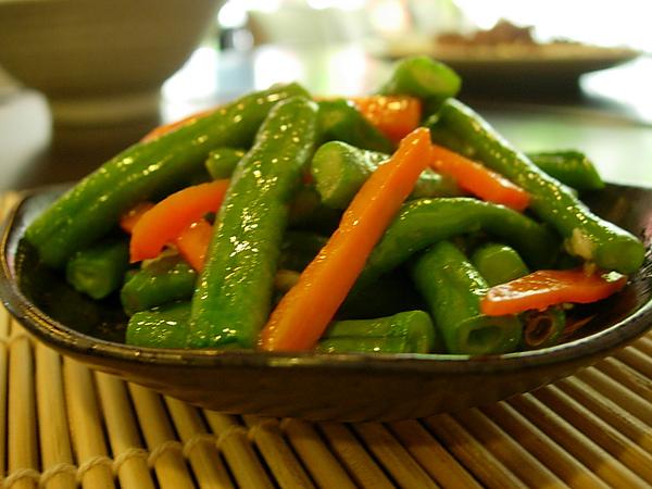 清炒長豆(青菜)