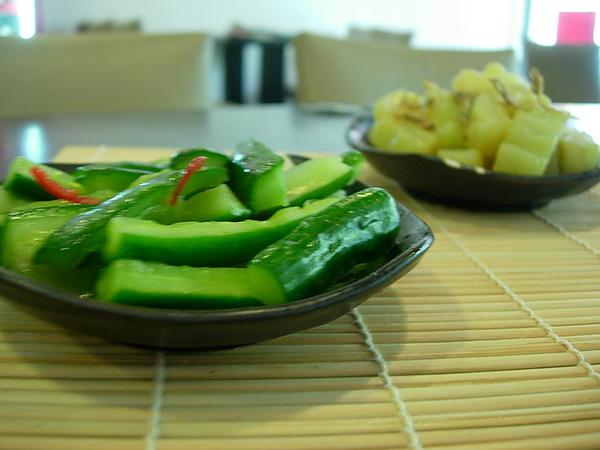 醃小黃瓜(小菜)