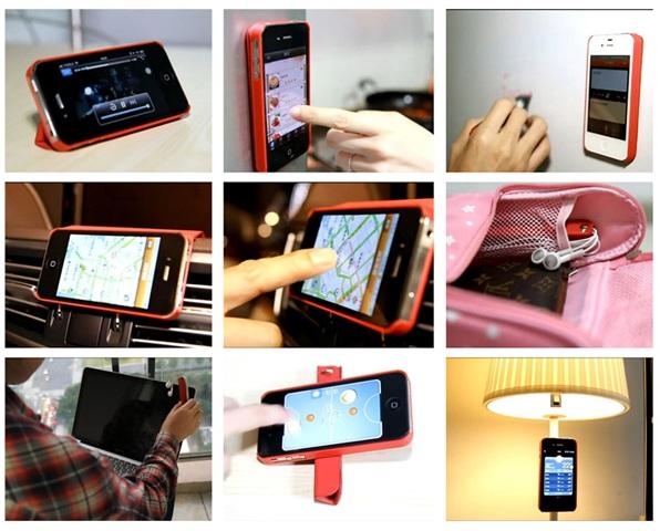 紅色,果兒,iPhone 5,手機套,手機殼