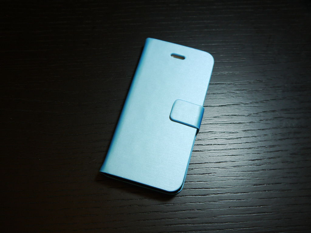 Apple iPhone 5 拉絲紋站立 手機殼/手機套