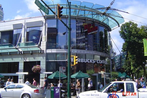 Starbucks at Robinson Street