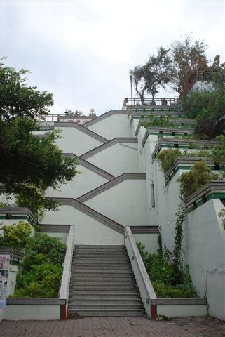 前往打狗英國領事館的階梯