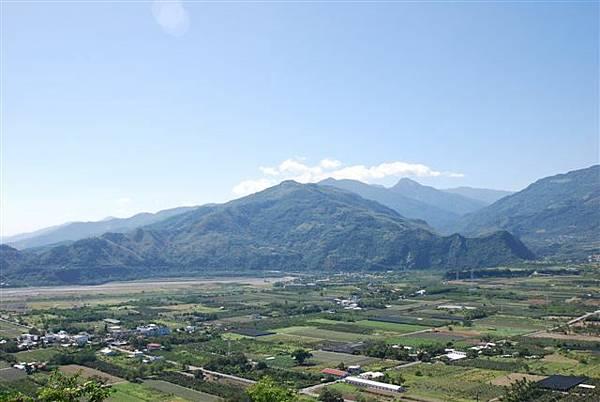 鹿野高台一景