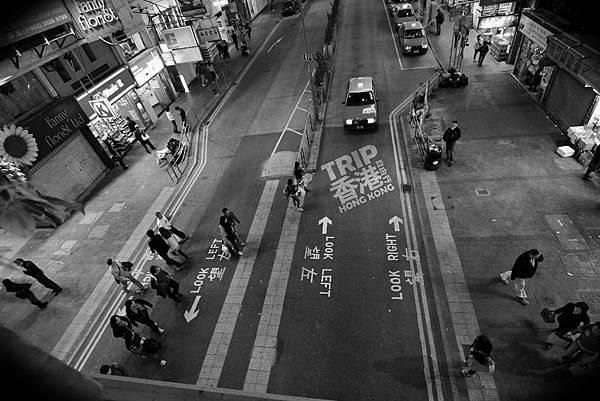 香港自由行_香港街道