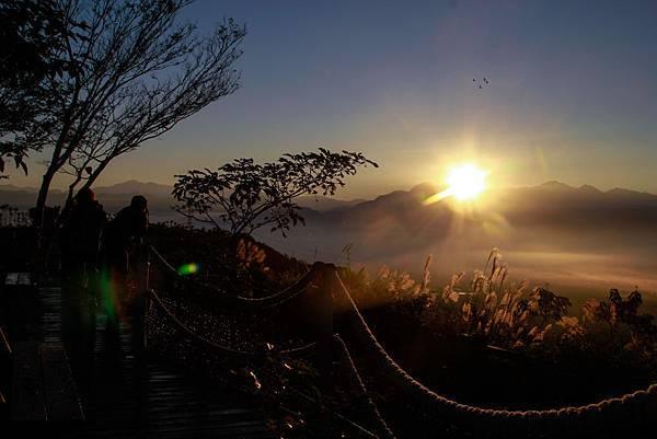 南投 橫山仙境露營區 日出