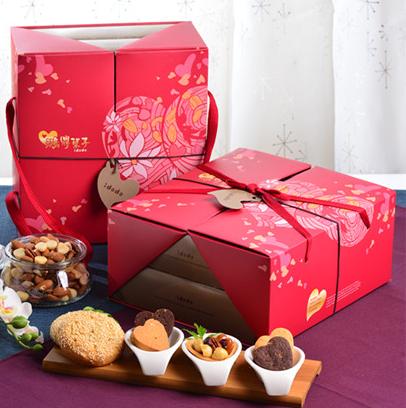 春節堅果塔禮盒1