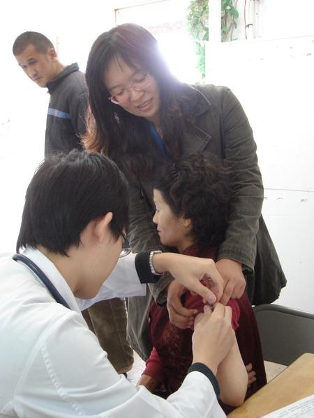 打流感疫苗
