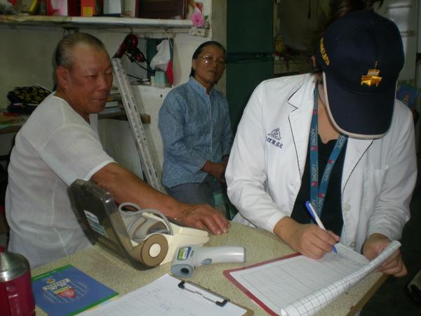 小坵家訪-量血壓2