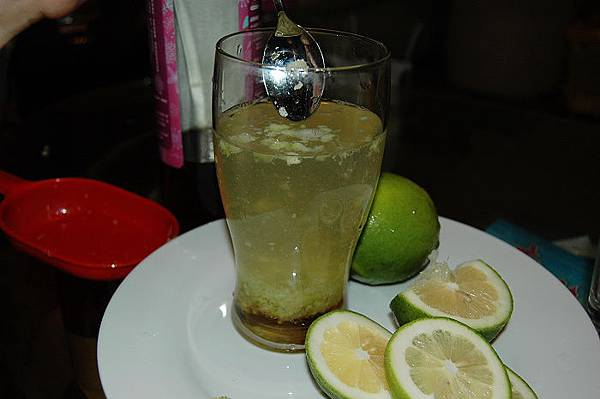 蜂蜜檸檬-攪拌