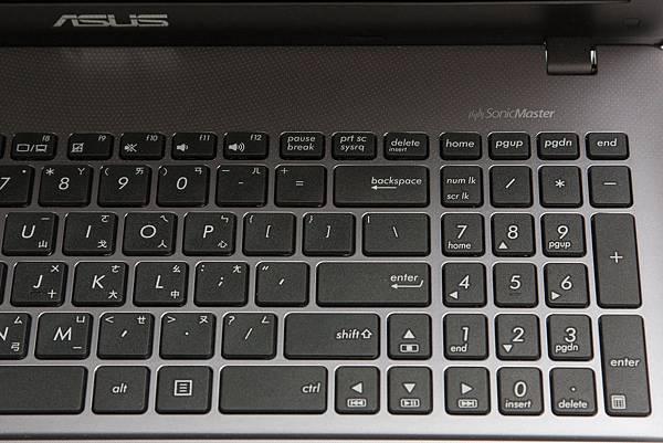 asus x550jk 數字鍵