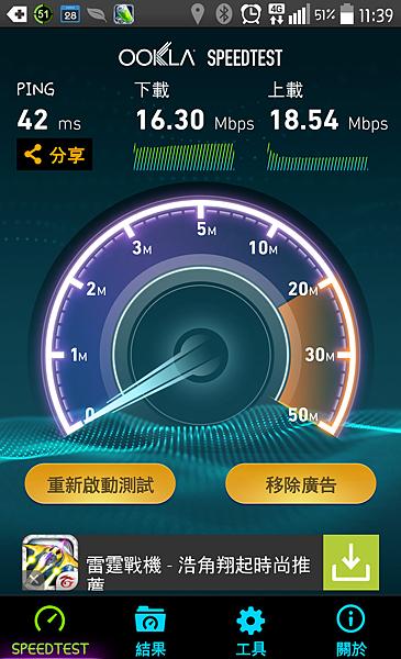 4G G2測試