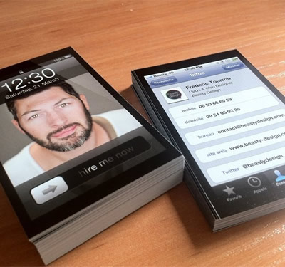 iphonebusinesscards