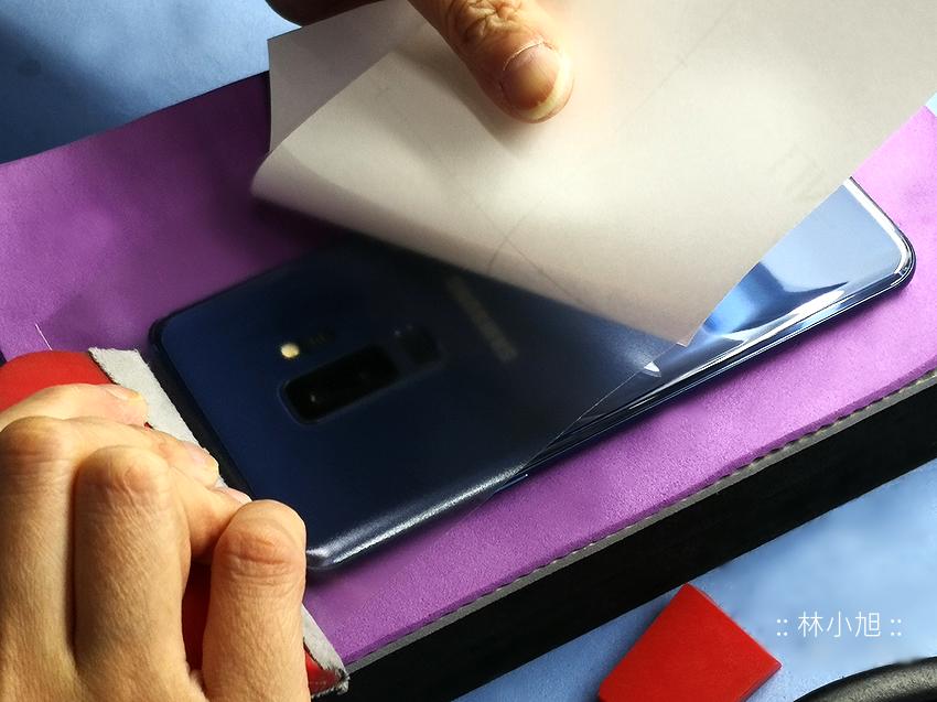 三星 Samsung Galaxy S9S9+ 專屬 imos 疏水疏油 3SAS 螢幕保護貼與膜斯密碼機身包膜推薦 (11)