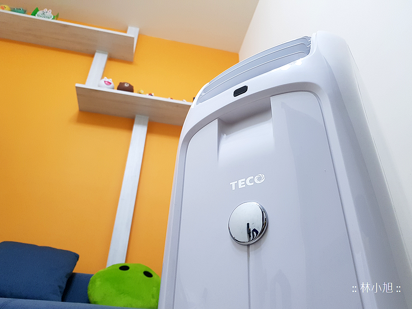 TECO 東元 4 坪冷暖除濕移動式空調 8000BTU (MP25FH) 開箱(ifans 林小旭) (9).png