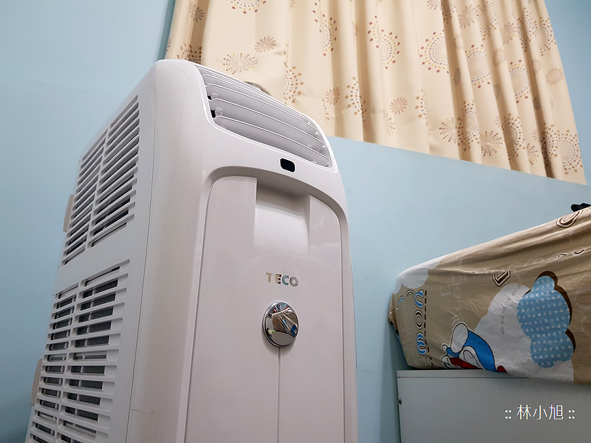 TECO 東元 4 坪冷暖除濕移動式空調 8000BTU (MP25FH) 開箱(ifans 林小旭) (36).png