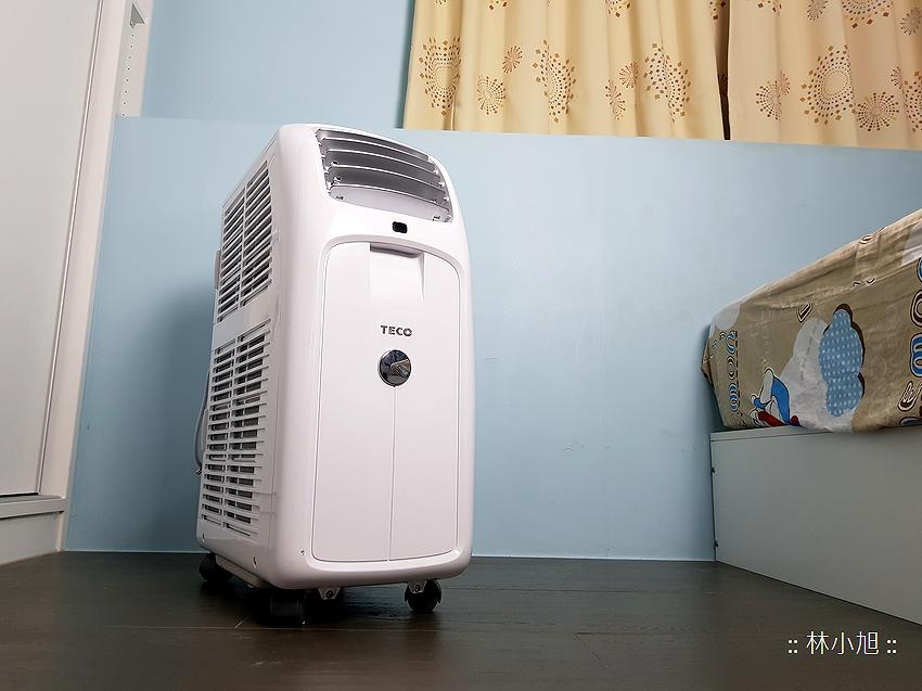 TECO 東元 4 坪冷暖除濕移動式空調 8000BTU (MP25FH) 開箱(ifans 林小旭) (55).png.png