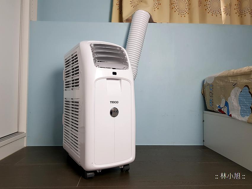 TECO 東元 4 坪冷暖除濕移動式空調 8000BTU (MP25FH) 開箱(ifans 林小旭) (56).png.png