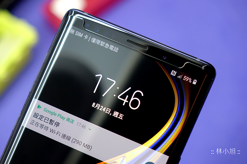 Samsung Galaxy Note 9 for imos 3SAS 疏水疏油螢幕保護貼與專屬玻璃保護貼包膜(ifans 林小旭) (35).png