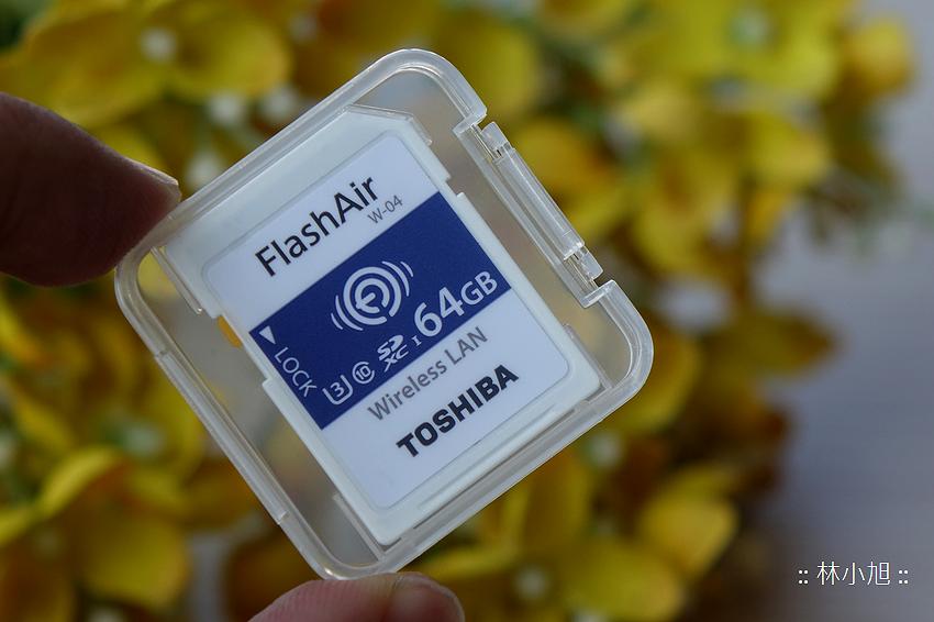 Toshiba Flash Air 無線傳輸記憶卡 W-04 開箱(ifans 林小旭) (6).png