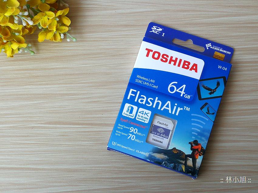 Toshiba Flash Air 無線傳輸記憶卡 W-04 開箱(ifans 林小旭) (7).png