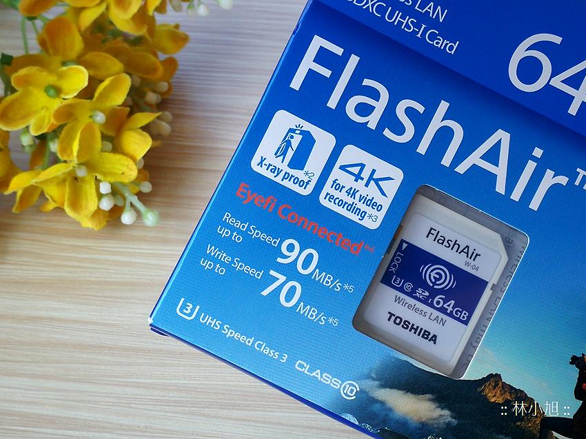 Toshiba Flash Air 無線傳輸記憶卡 W-04 開箱(ifans 林小旭) (9).png