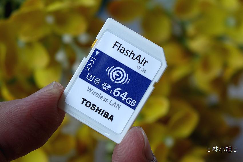 Toshiba Flash Air 無線傳輸記憶卡 W-04 開箱(ifans 林小旭) (2).png